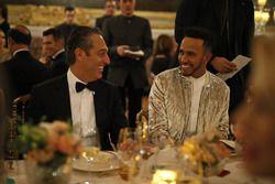 Lewis Hamilton con Carlos Slim Domit