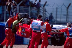 L'accident de Michael Schumacher, Ferrari