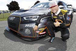 Motul Pole award winner #75 Compass Racing, Audi RS3 LMS TCR, TCR: Pierre Kleinubing