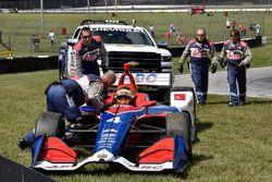 Matheus Leist, A.J. Foyt Enterprises Chevrolet and Safety Team