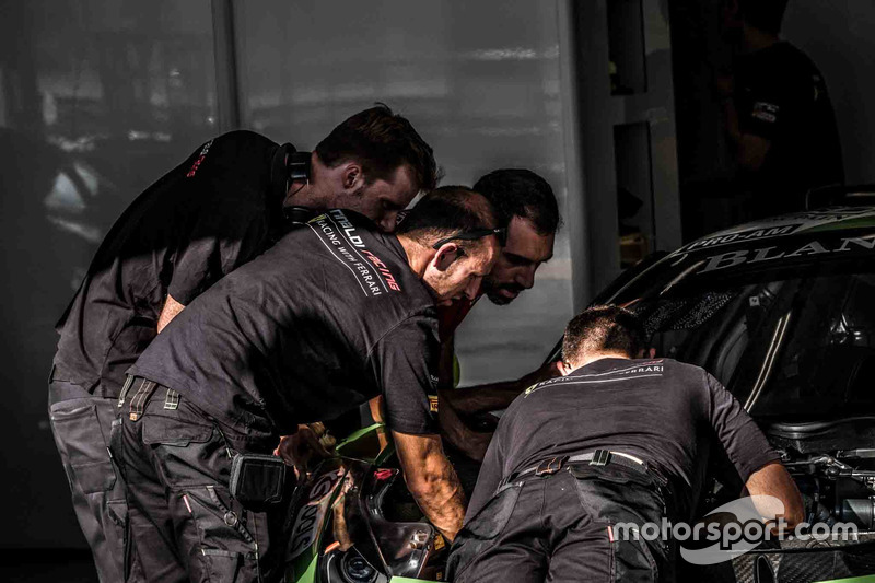 Rinaldi Racing mekanikeri