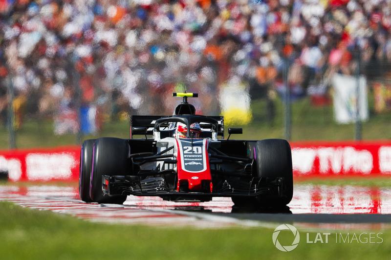 Kevin Magnussen levou a Haas à sétima posição
