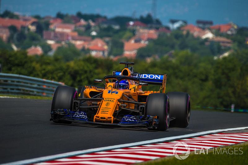 Fernando Alonso, McLaren MCL33 Fernando Alonso, McLaren MCL33