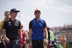 Max Verstappen, Red Bull Racing and Pierre Gasly, Toro Rosso