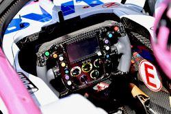 Force India VJM11 direksiyon