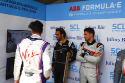 Alex Lynn, DS Virgin Racing, Jean-Eric Vergne, Techeetah, Edoardo Mortara, Venturi Formula E Team