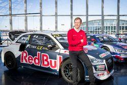 Mattias Ekström with the EKS Audi S1 quattro WRX
