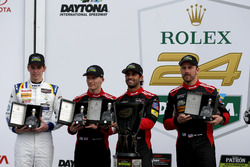 Victory lane, Northern Endurance Cup: #31 Action Express Racing Cadillac DPi: Felipe Nasr, Eric Curran, Mike Conway, Stuart Middleton