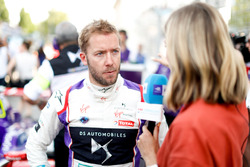 Sam Bird, DS Virgin Racing, talks to Nicki Shields