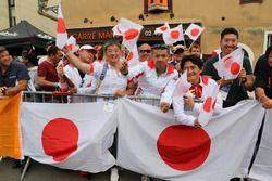 Japon taraftarlar