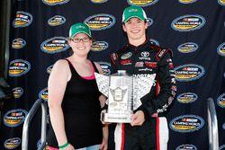 Harrison Burton, Kyle Busch Motorsports, Toyota Tundra Morton Buildings pole award