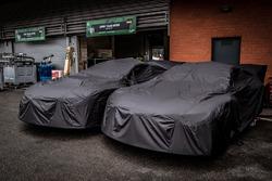 #81 BMW Team MTEK BMW M8 GTE under covers