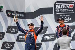 Подиум: обладатель второго места Норберт Михелис, BRC Racing Team