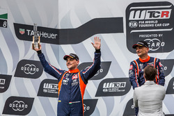 Podium: second place Norbert Michelisz, BRC Racing Team Hyundai i30 N TCR