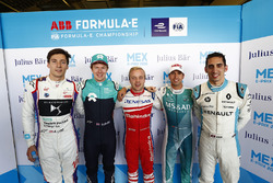 Alex Lynn, DS Virgin Racing, Oliver Turvey, NIO Formula E Team, Felix Rosenqvist, Mahindra Racing, A