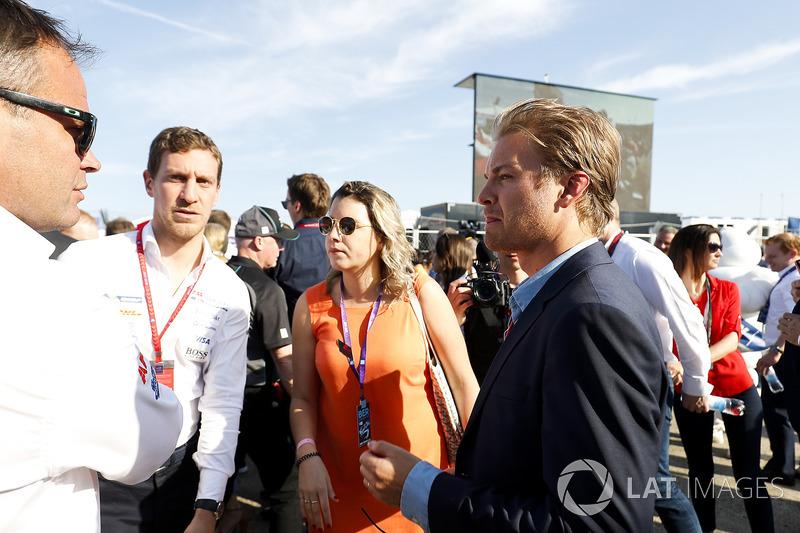 Nico Rosberg, Champion du monde de Formule 1 et investisseur en Formule E
