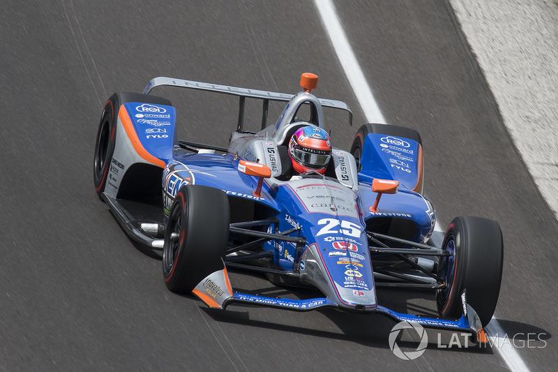 23°: Stefan Wilson, Andretti Autosport Honda