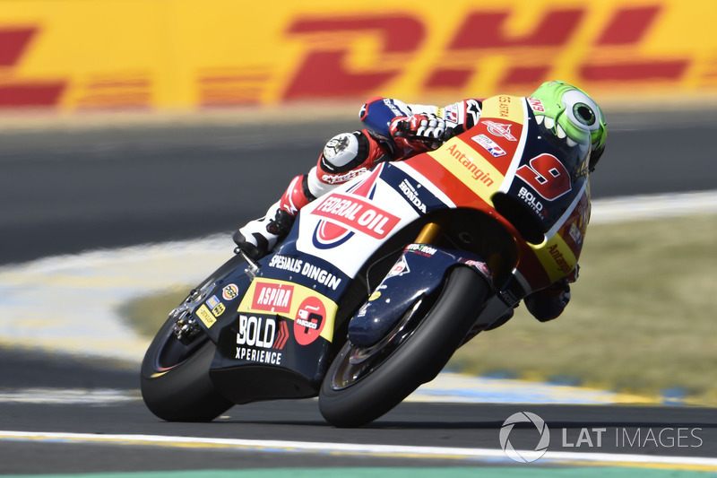 Jorge Navarro, Federal Oil Gresini