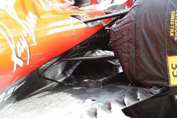 Ferrari SF70H, dettaglio del fondo