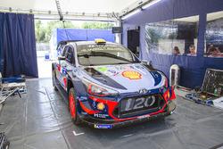 Hyundai Motorsport team área