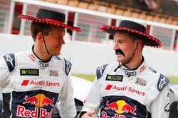 Гонщики EKS Audi Sport Маттиас Экстрём и Андреас Баккеруд