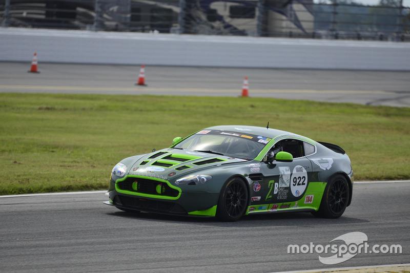 #2 TA3 Aston Martin Vantage GT4: Steven Davidson of Automatic Racing