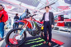 Monster Energy Honda Team presentation