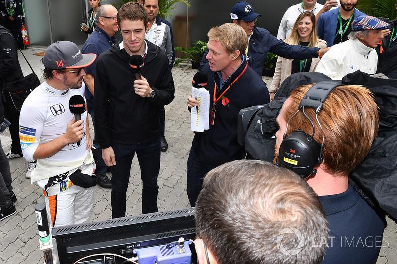 Фернандо Алонсо, McLaren, Пол ді Реста, Саймон Лазенбі, Sky TV