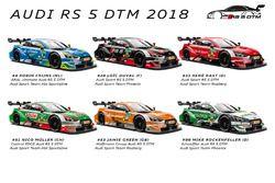 Audi Sport Designs 2018