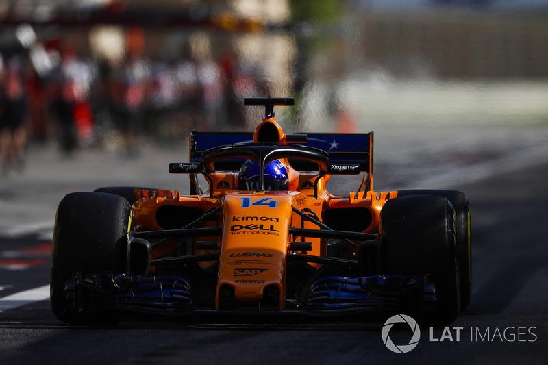 13. Фернандо Алонсо, McLaren