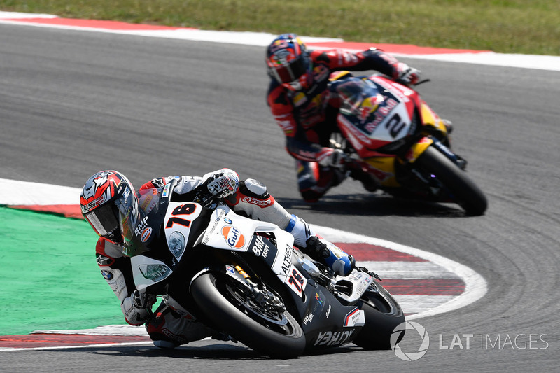 Loris Baz, Althea Racing, Leon Camier, Honda WSBK Team