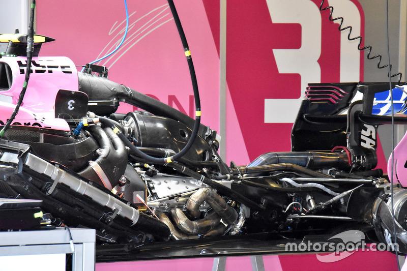 Le moteur de la Force India VJM11