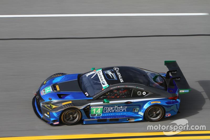 #14 3GT Racing Lexus RCF GT3: Dominik Baumann, Kyle Marcelli, Philipp Frommenwiler, Bruno Junqueira