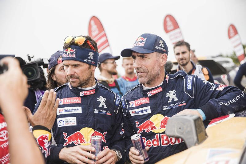 Stéphane Peterhansel y Cyril Despres