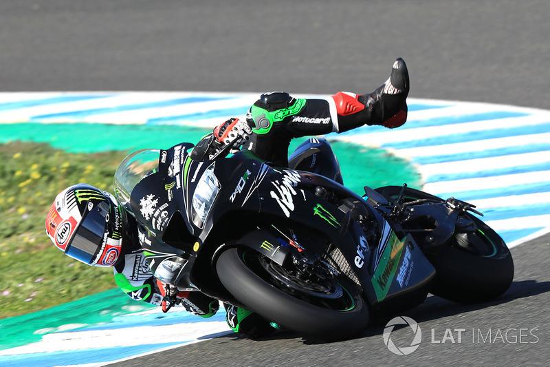 Choque de Jonathan Rea, Kawasaki Racing