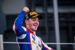 Podium: race winner Dorian Boccolacci, Trident
