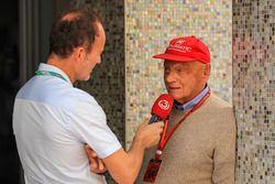 Niki Lauda, directeur non-exécutif de Mercedes AMG F1
