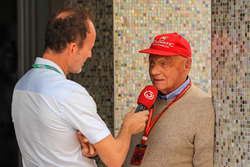 Niki Lauda, Mercedes AMG F1 Non-Executive Chairman