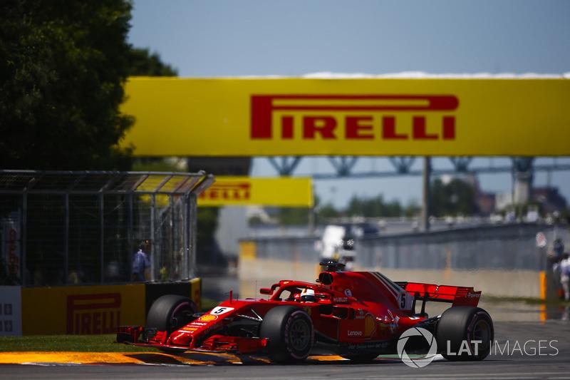 1. Себастьян Феттель, Ferrari SF71H – 1:10.764