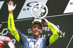 Podio: tercer lugar Valentino Rossi, Yamaha Factory Racing