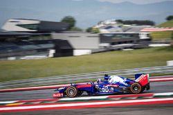 Dani Pedrosa prueba el Toro Rosso