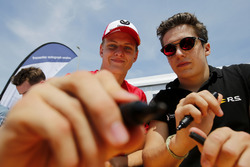 Autograph session, Mick Schumacher, PREMA Theodore Racing Dallara F317 - Mercedes-Benz, Sacha Fenest