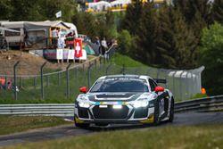 #41 Phoenix Racing Audi R8 LMS GT4: Milan Dontje, Nicolaj Möller Madsen, Xiaole He
