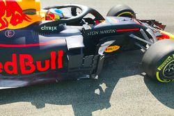 تفاصيل سيارة دانيال ريكاردو، ريد بُل ريسينغ