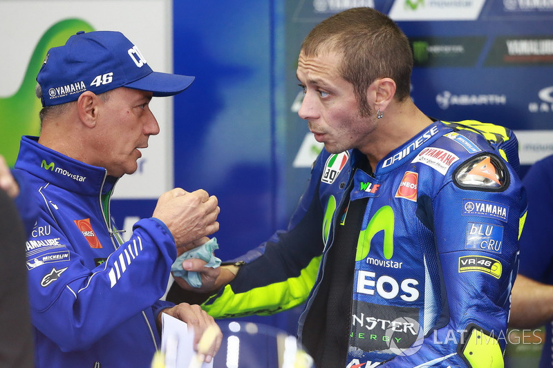 Лука Кадалора, Валентино Россі, Yamaha Factory Racing