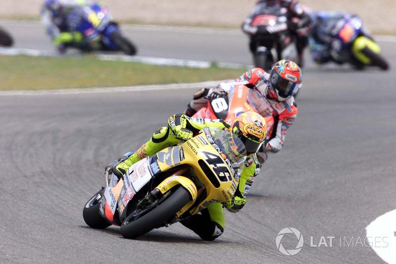 325 Punkte: Valentino Rossi 2001 (500ccm)
