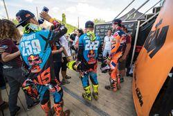 Jeffrey Herlings, Red Bull KTM Factory Racing, Tony Cairoli, Red Bull KTM Factory Racing en Glenn Co