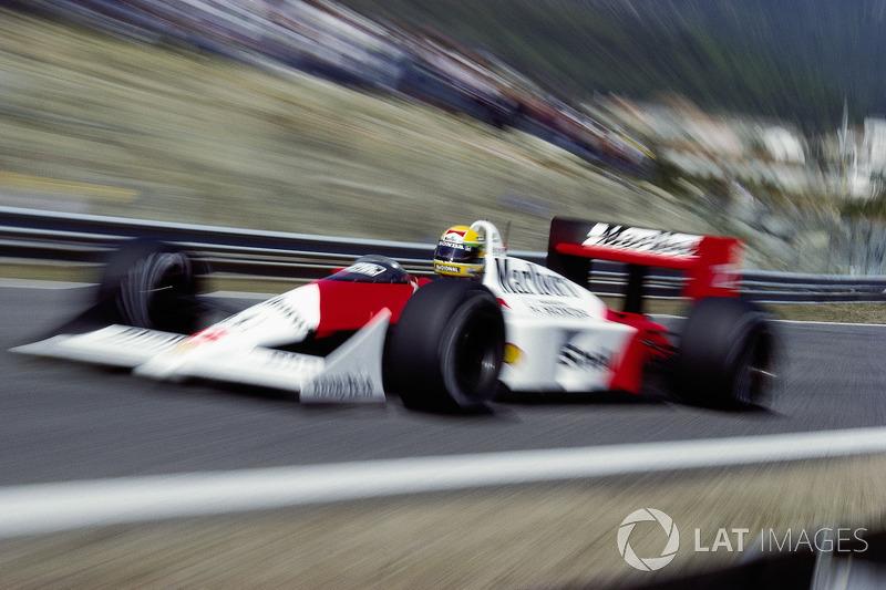 4. El McLaren MP4/4 de 1988 es el único coche que ha ganado 11 carreras consecutivas en la historia. En realidad, ningún equipo nunca ganó más de 10 carreras seguidas, sólo McLaren ese año.
