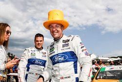 GTLM podium: winners Dirk Müller, Joey Hand, Chip Ganassi Racing Ford