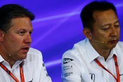 Zak Brown, Executive Director, McLaren Technology Group, Yusuke Hasegawa, Senior Managing Officer, H